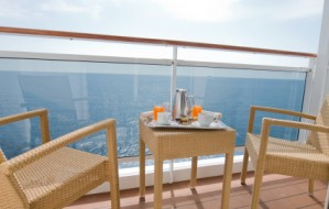 Breakfast on Cruise ship
